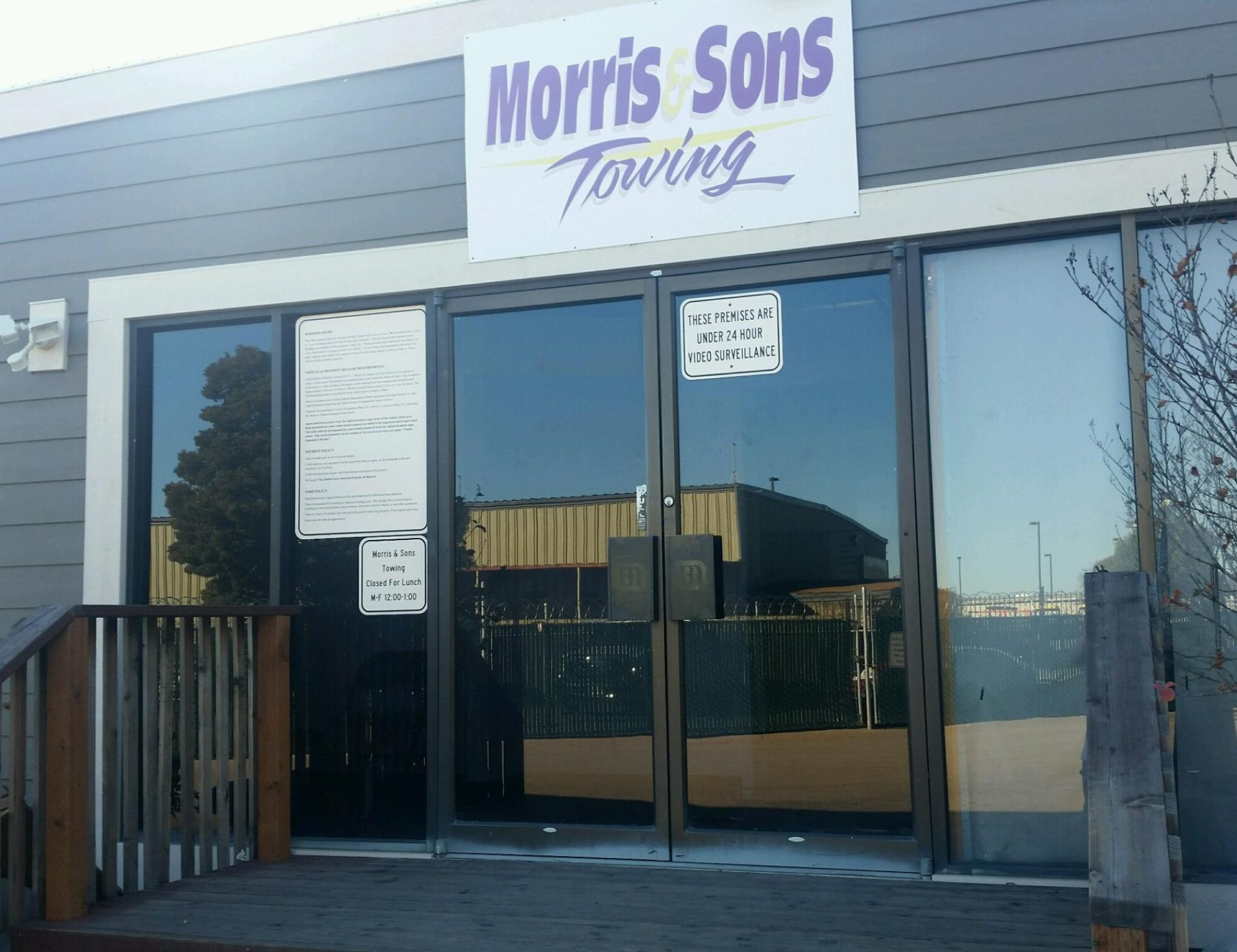 Morris & Sons Towing